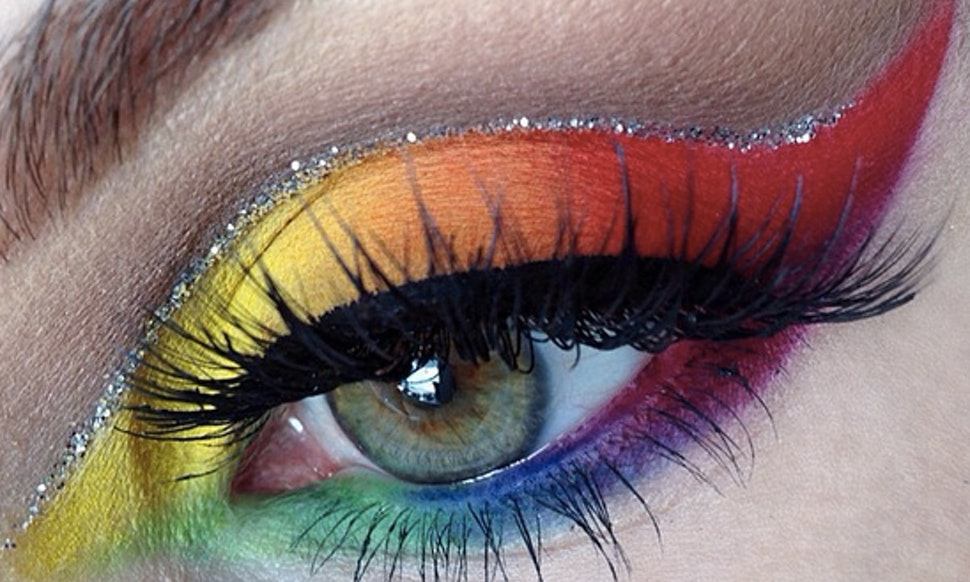 How to Apply Rainbow Eyeshadow recommendations