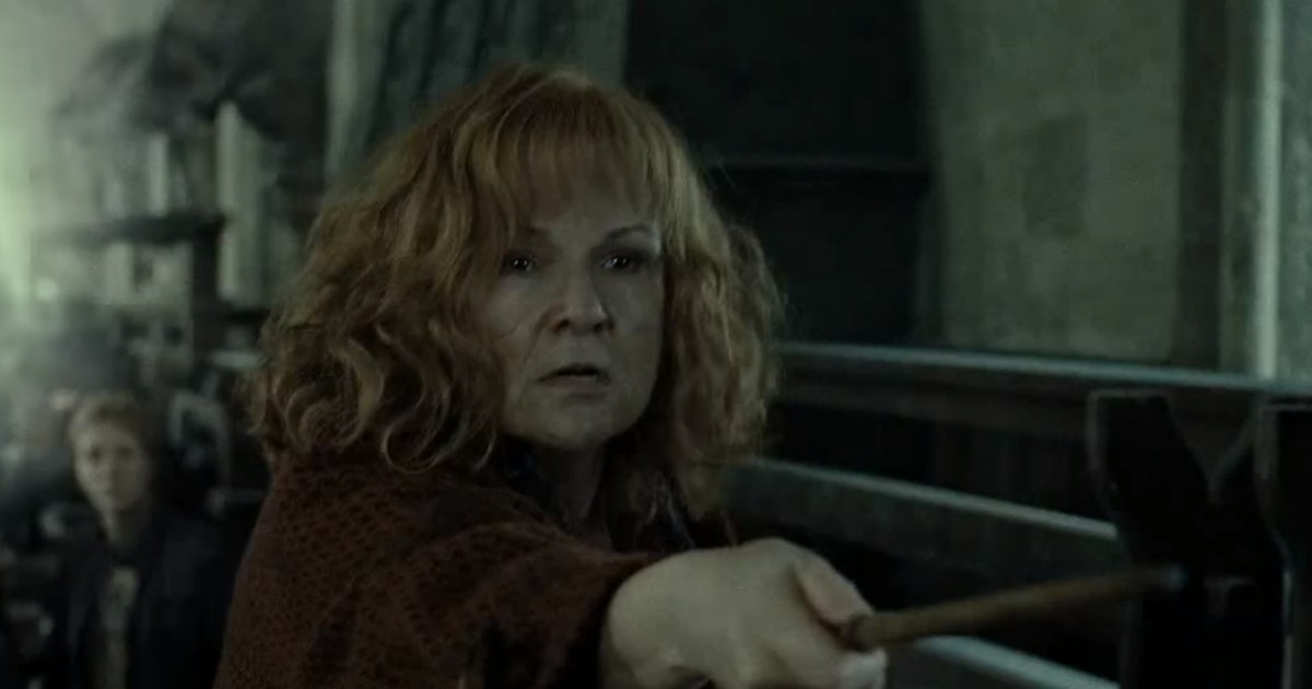 Molly Weaselt\y in Deathly Hallows pt 2