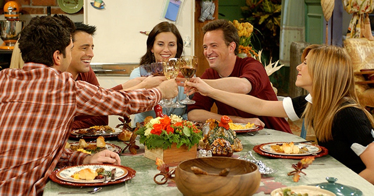 7 Lessons The Friends Thanksgiving Episodes Taught Us About Life Love Food