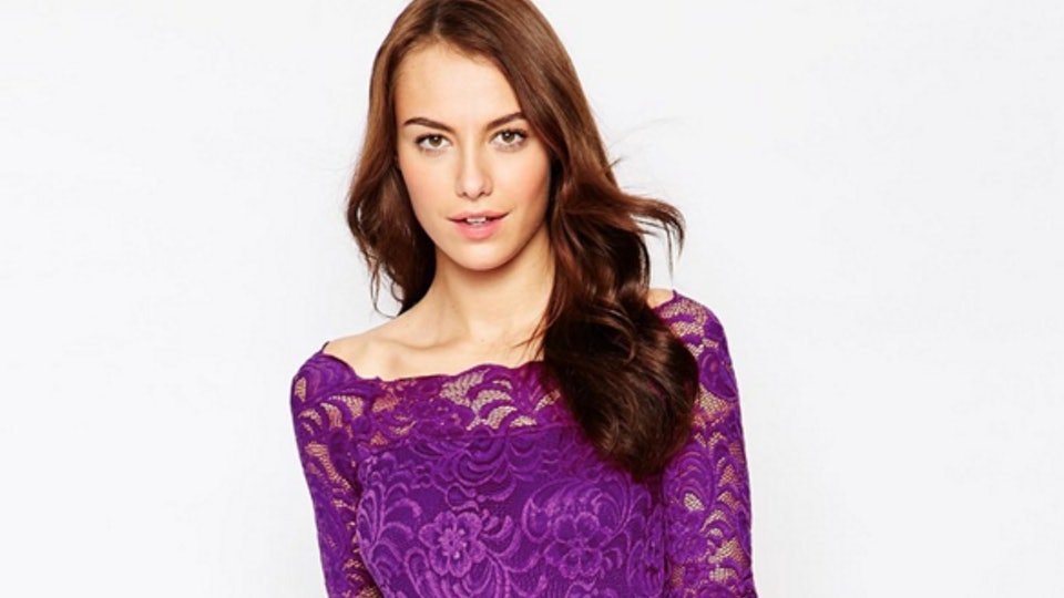 c9951ef9b2b46 13 New Year's Eve Maternity Dresses That'll Make You & Your Bump Shine