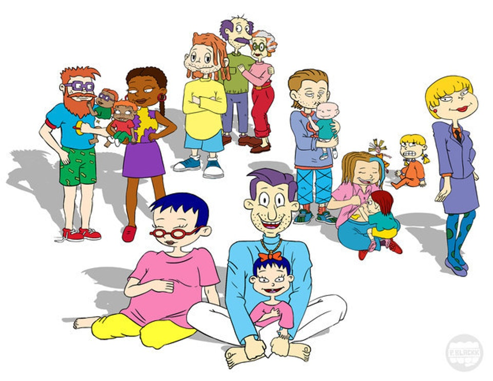 What Would The Rugrats Babies Look Like As Adults Now We Know