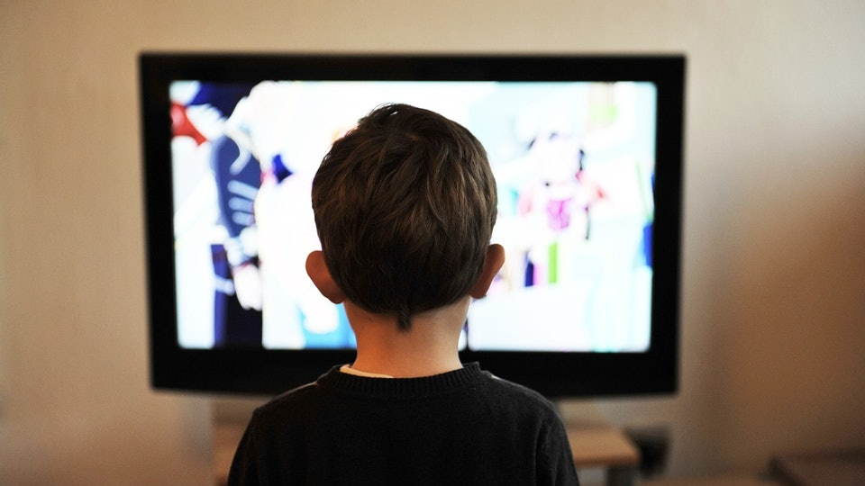 Резултат с изображение за kid watching tv