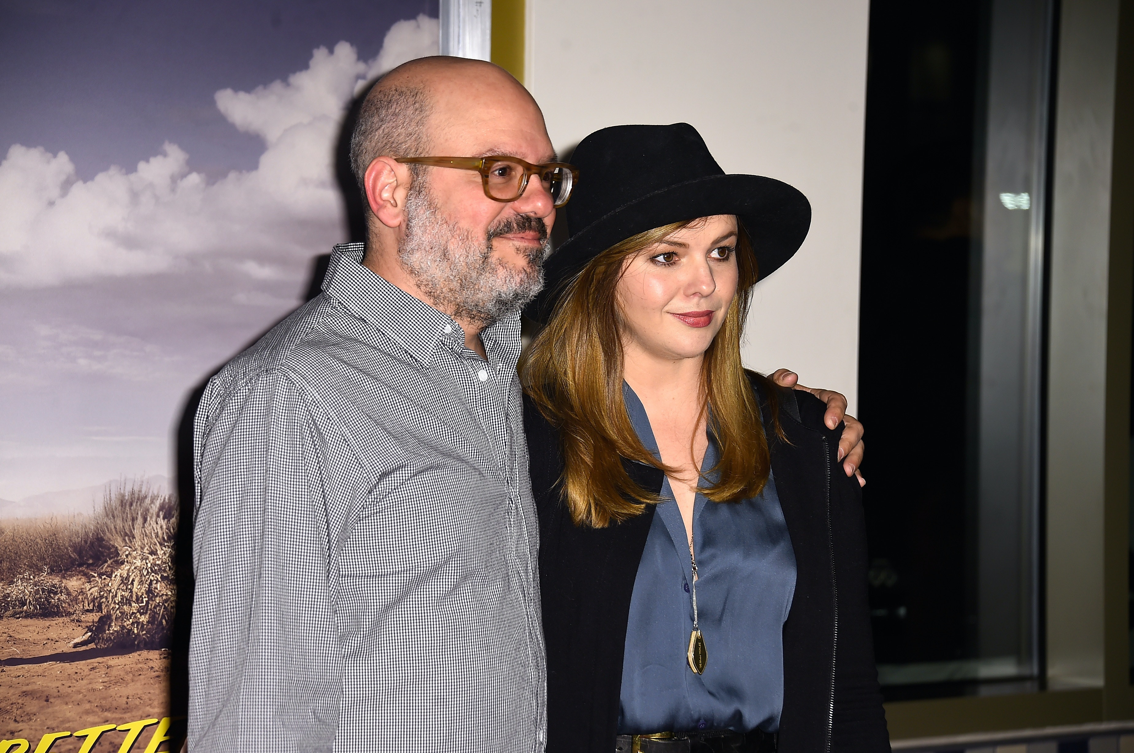 Amber Tamblyn Wedding.How Did Amber Tamblyn David Cross Meet Skymall Brought Them Together