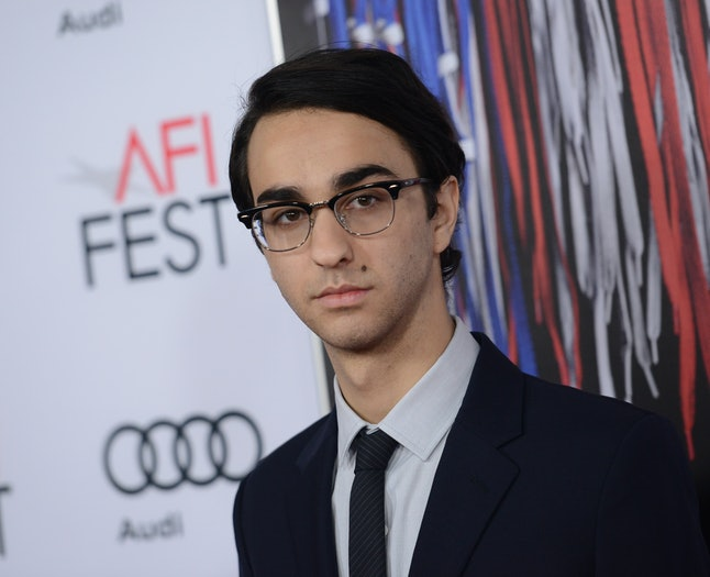 Alex Wolff attends the AFI special closing night gala presentation of 'Patriots Day' at the Chinese theatre in Hollywood, on November 17, 2016.