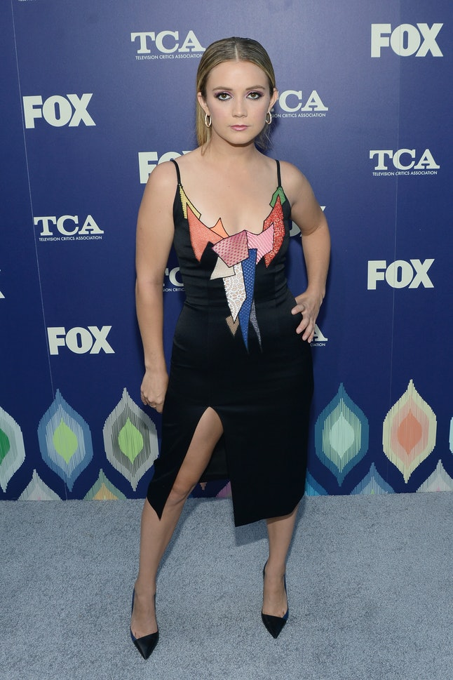 LOS ANGELES, CA - AUGUST 08:  Actress Billie Lourd attends the FOX Summer TCA Press Tour on August 8, 2016 in Los Angeles, California.  (Photo by Matt Winkelmeyer/Getty Images)
