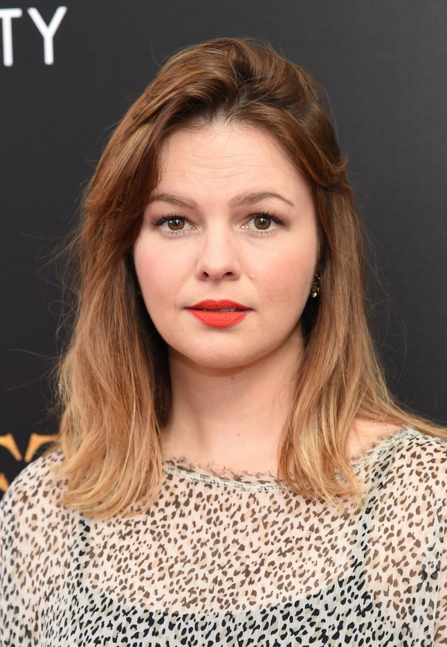NEW YORK, NY - JULY 13:  Amber Tamblyn attends the premiere of 'Cafe Society' hosted by Amazon & Lionsgate with The Cinema Society at Paris Theatre on July 13, 2016 in New York City.  (Photo by Jamie McCarthy/Getty Images)