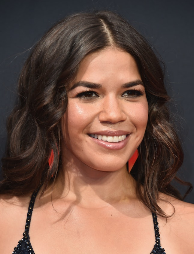 LOS ANGELES, CA - SEPTEMBER 18:  Actress America Ferrera attends the 68th Annual Primetime Emmy Awards at Microsoft Theater on September 18, 2016 in Los Angeles, California.  (Photo by Alberto E. Rodriguez/Getty Images)