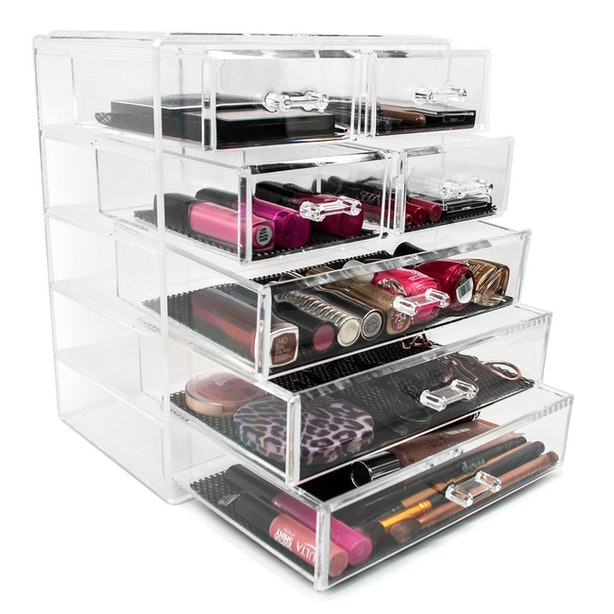The Best Makeup Organizers For Your Countertop - Cosmetic organizer countertop
