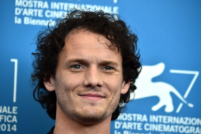 Actor Anton Yelchin poses during the photocall of the movie 'Cymbeline' presented in the Orizzonti selection at the 71st Venice Film Festival on September 3, 2014 at Venice Lido.