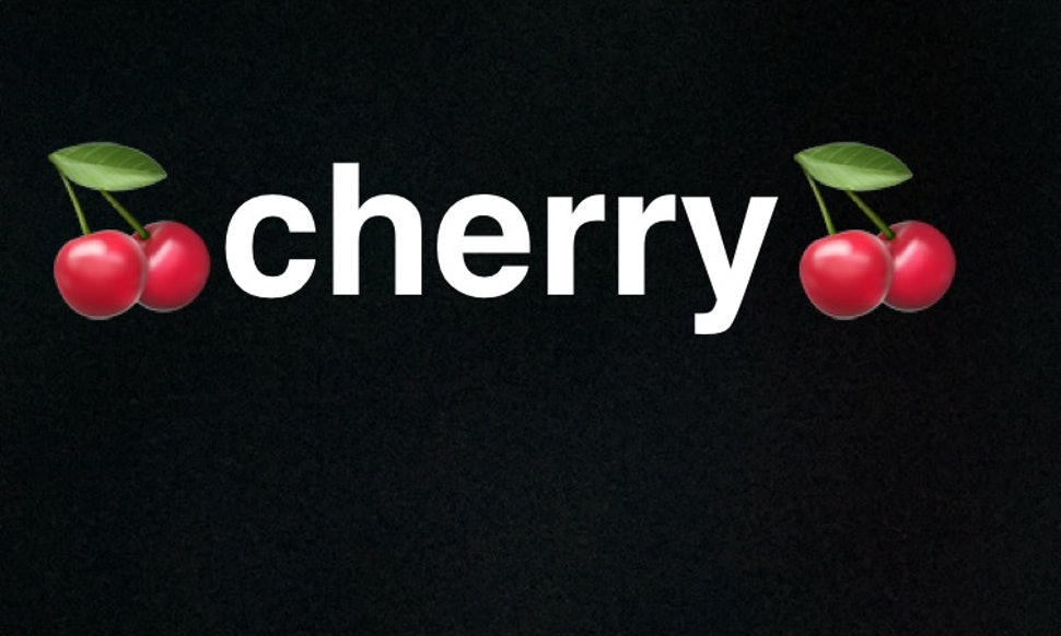 Why Are People Posting Cherry On Their Snapchat Stories The Fruit