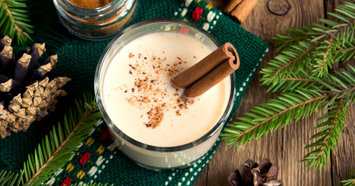 is it safe to drink eggnog while pregnant