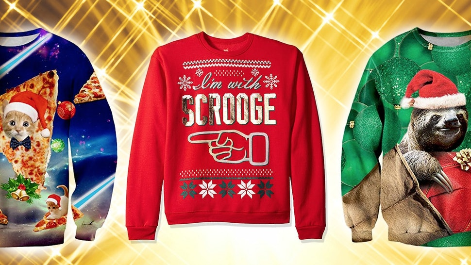Where To Buy Ugly Christmas Sweaters So Bad Theyre Good