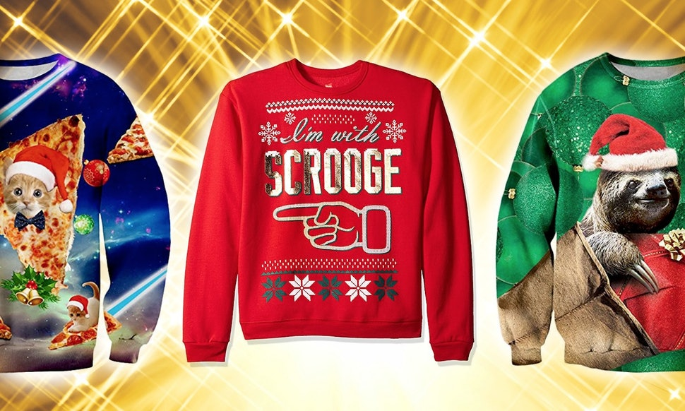 Where To Buy Ugly Christmas Sweaters So Bad, They\'re Good