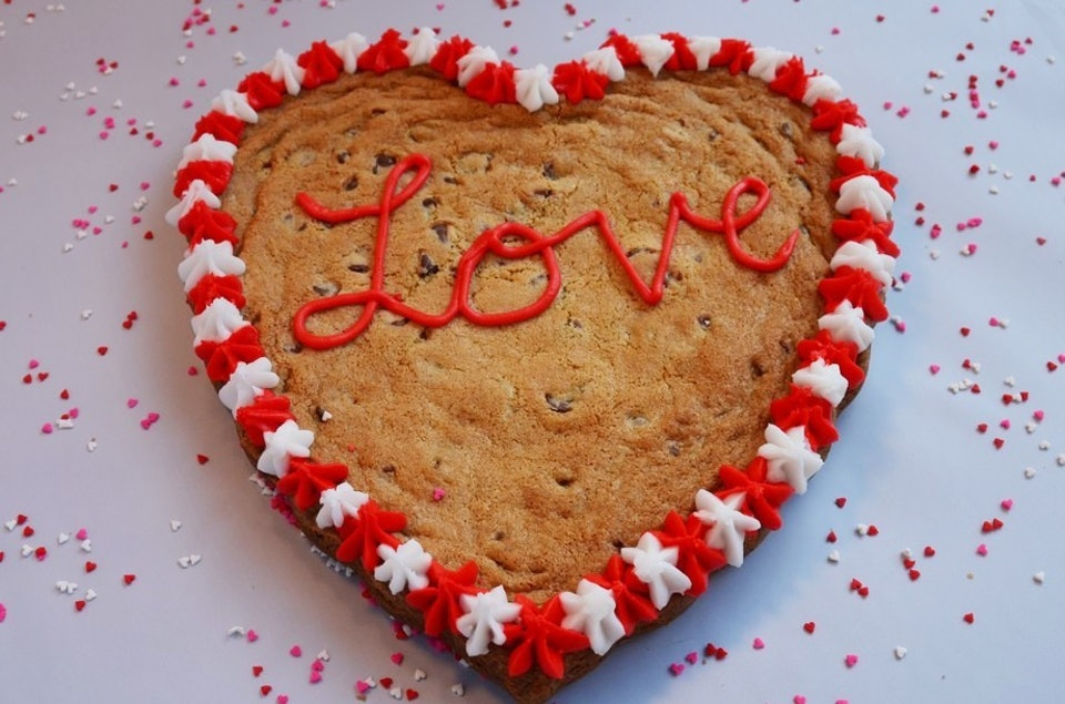 Where Can You Get A Heart Shaped Cookie Cake For Valentine S Day