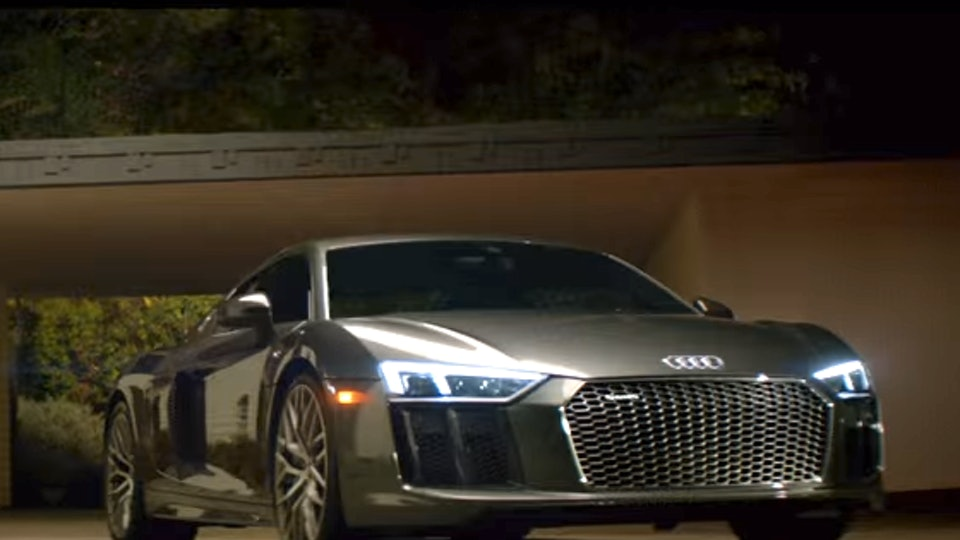 What S The Song In The Audi R8 Super Bowl Ad Prepare The Tissues