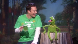 Jimmy Fallon and Kermit the Frog bring all the funny St. Patrick's Day quotes.