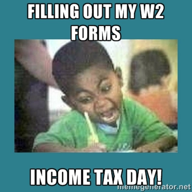 Filling out all the W-2 forms I can.