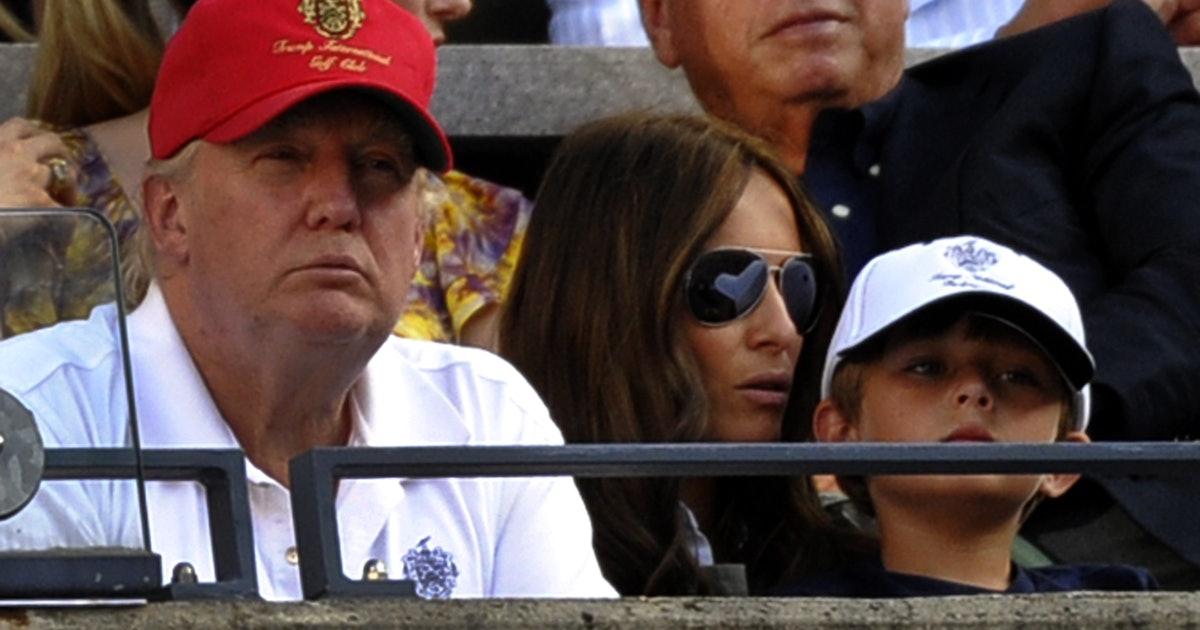 Barron  Is All Trump? Son Old Trump