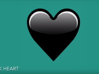 The black heart emoji is perfect for when you're trying to convey a dark and twisted sense of humor.