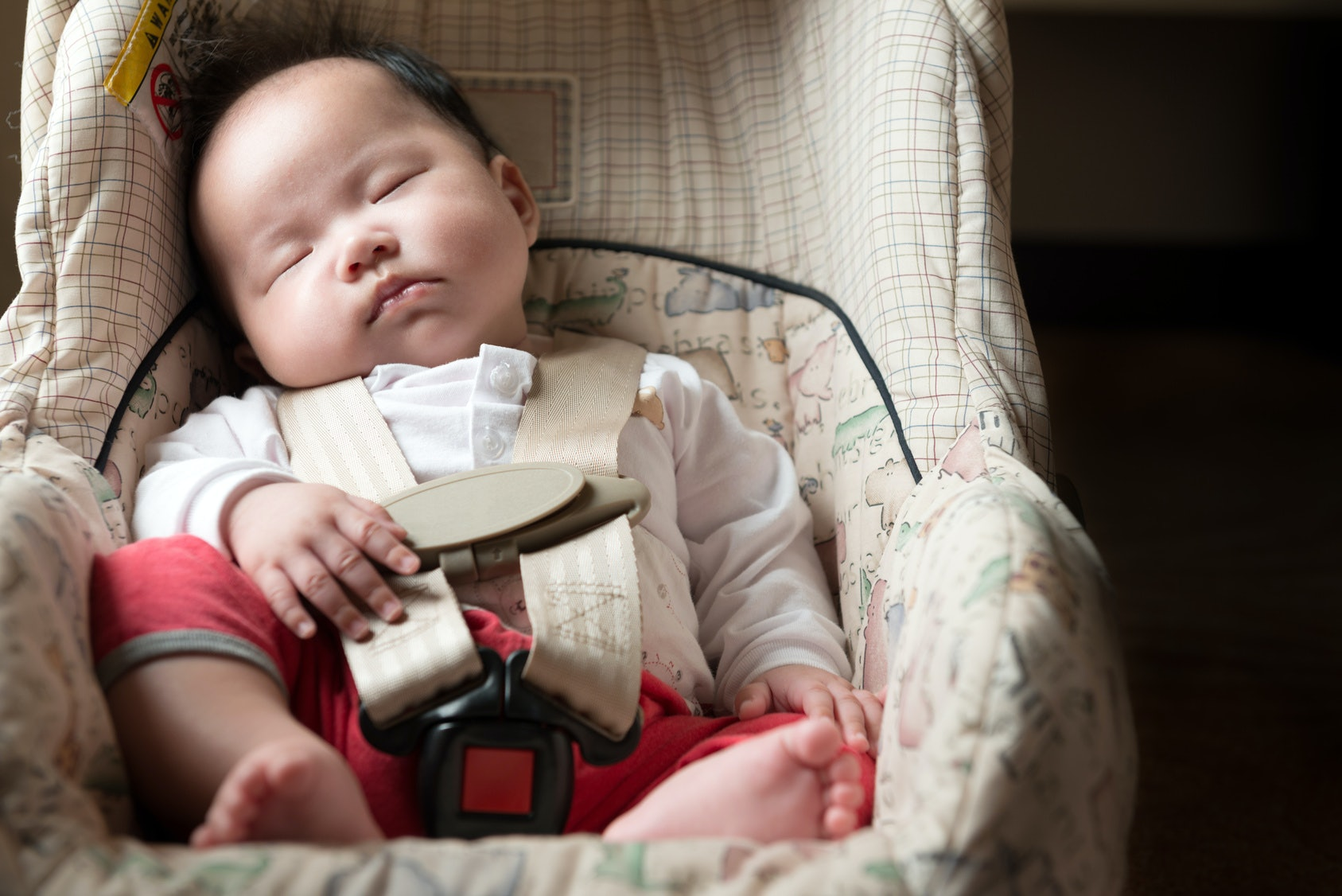 Is It Safe For A Baby To Sleep In A Car Seat?