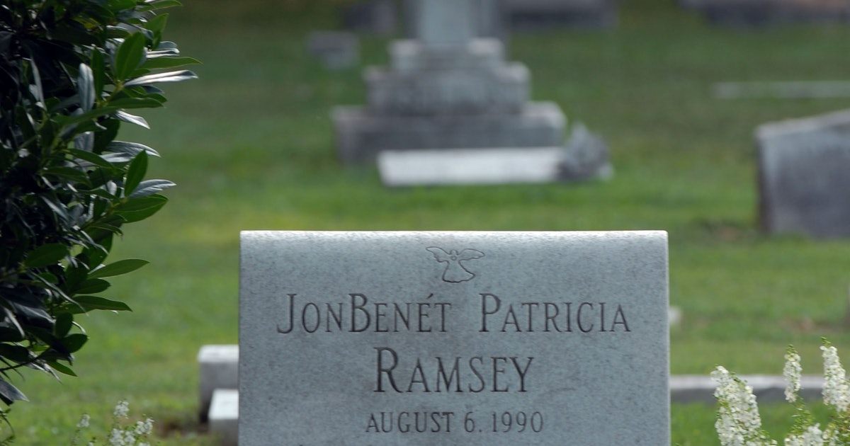JonBenet Ramsey Crime Scene Photos Are Out There, & Here's ...