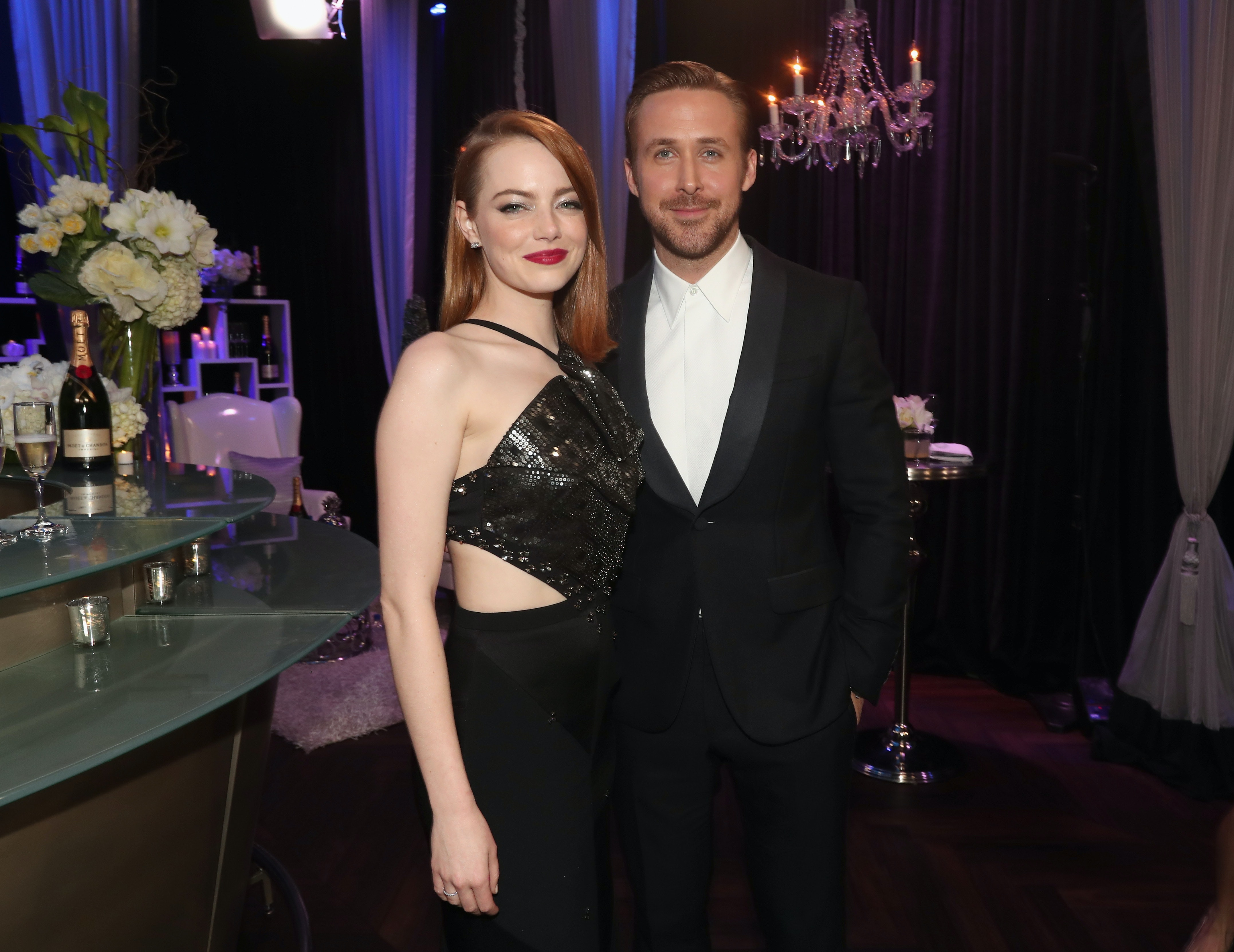 Who has emma stone dating