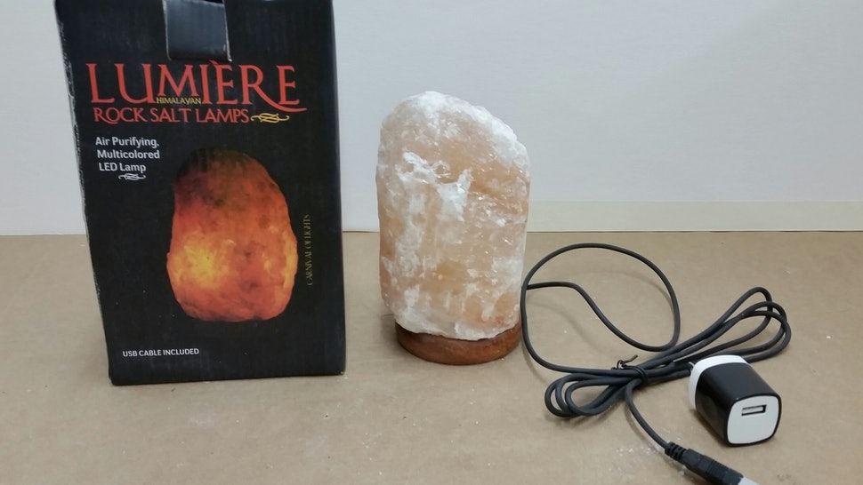 Thousands Of Himalayan Rock Salt Lamps Are Being Recalled Heres