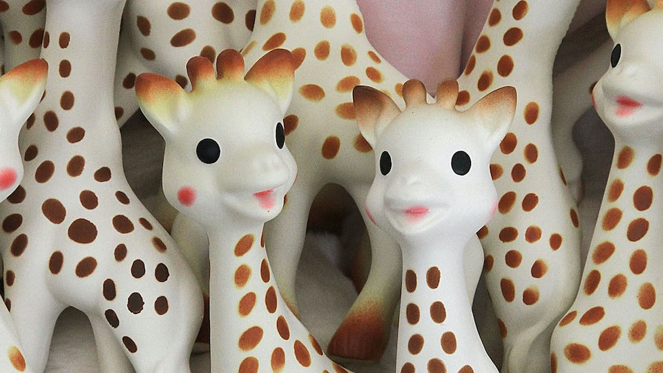Sophie The Giraffe Toy May Have A Mold Problem That Parents Should