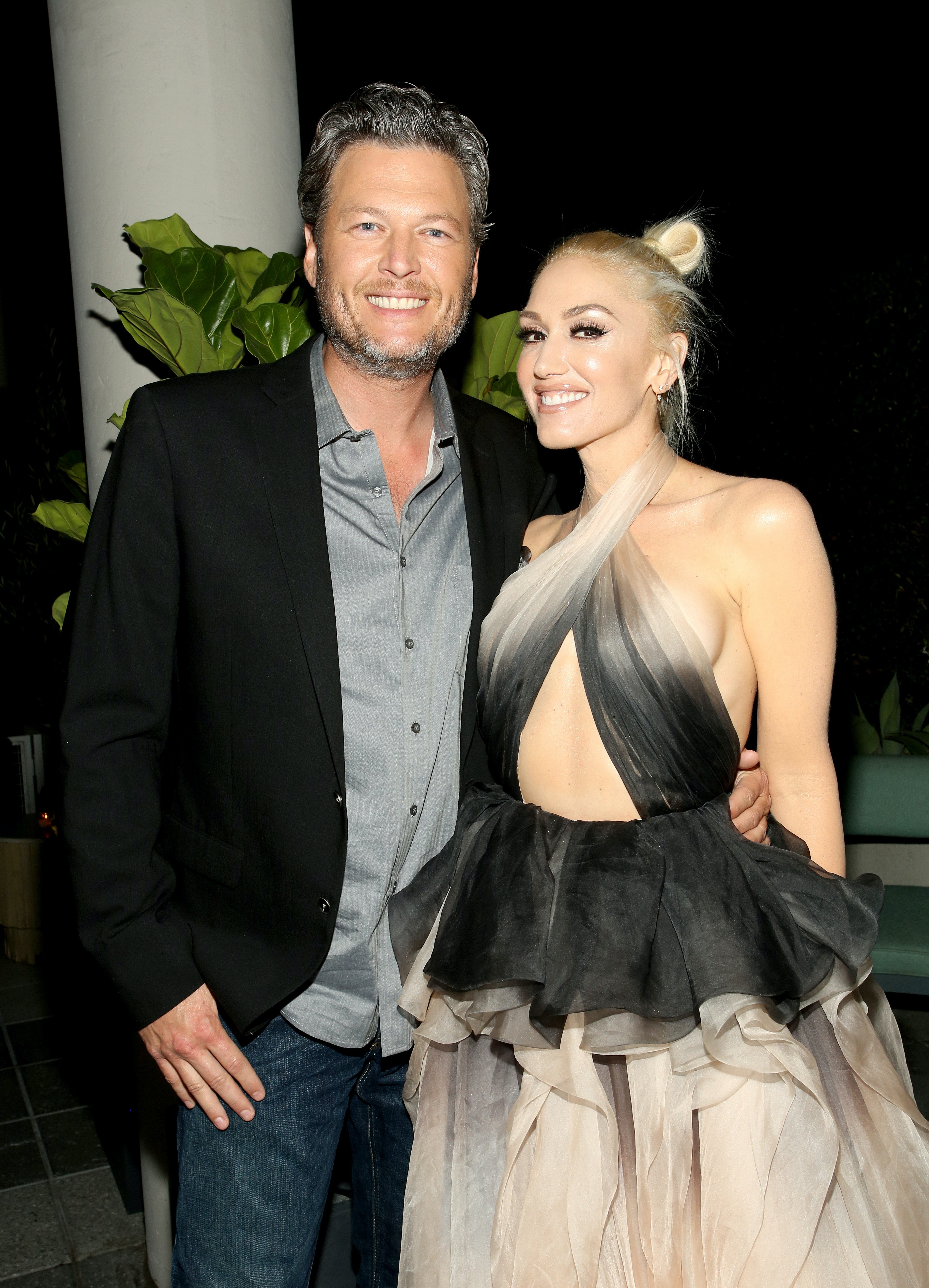 Gwen stefani not dating blake shelton