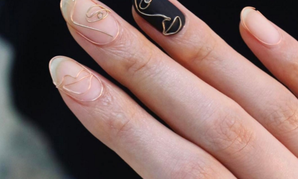 The Wire Manicure Trend Is The Edgy Take On Nail Art You Need To See ...