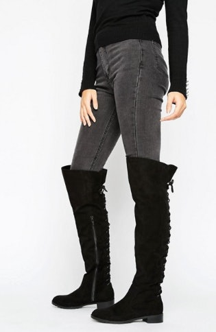 9 Flat Over-The-Knee Boots To Buy If