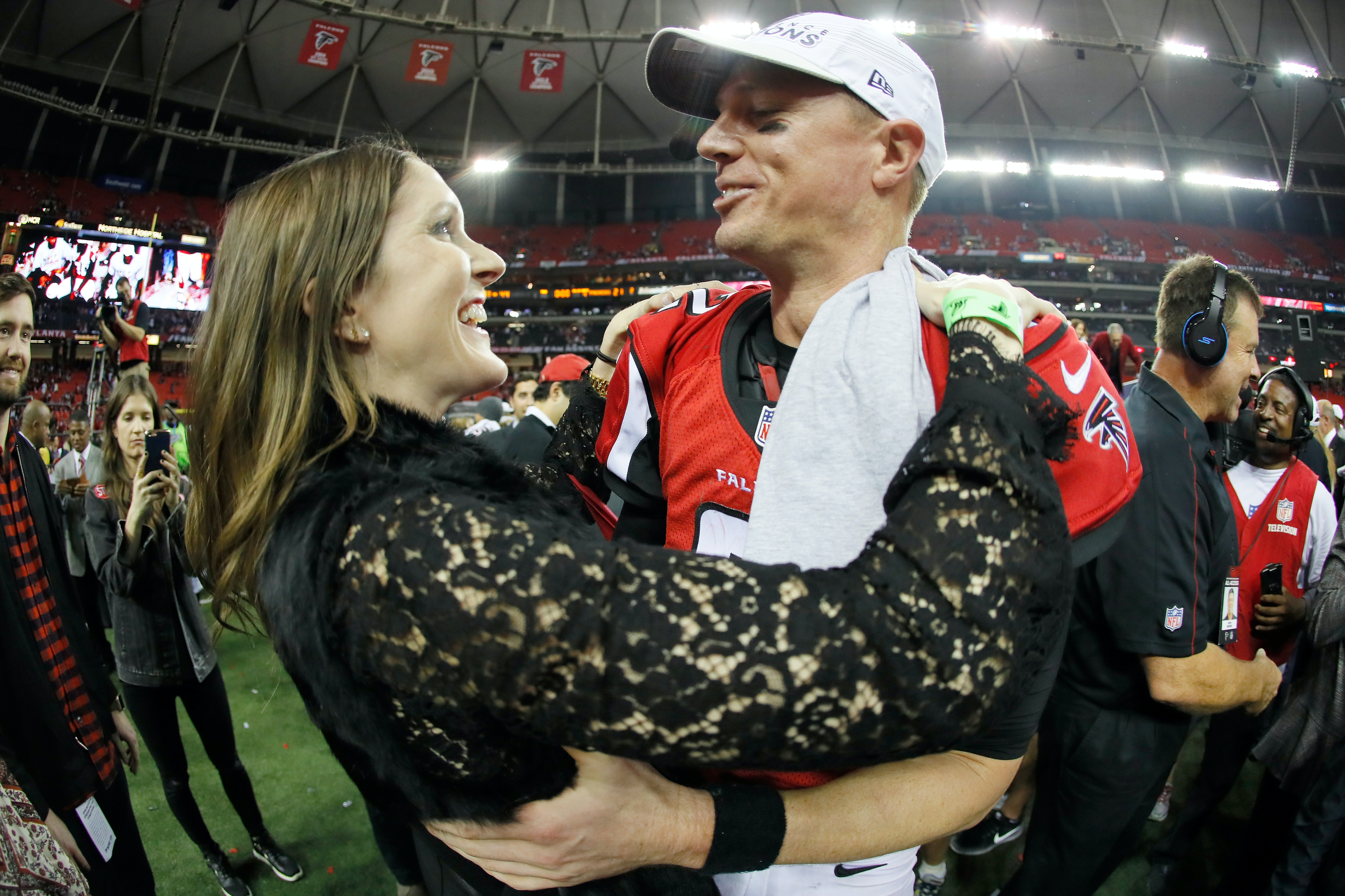 Who Is Matt Ryan S Wife Sarah Marshall She Works In The Sports World Too