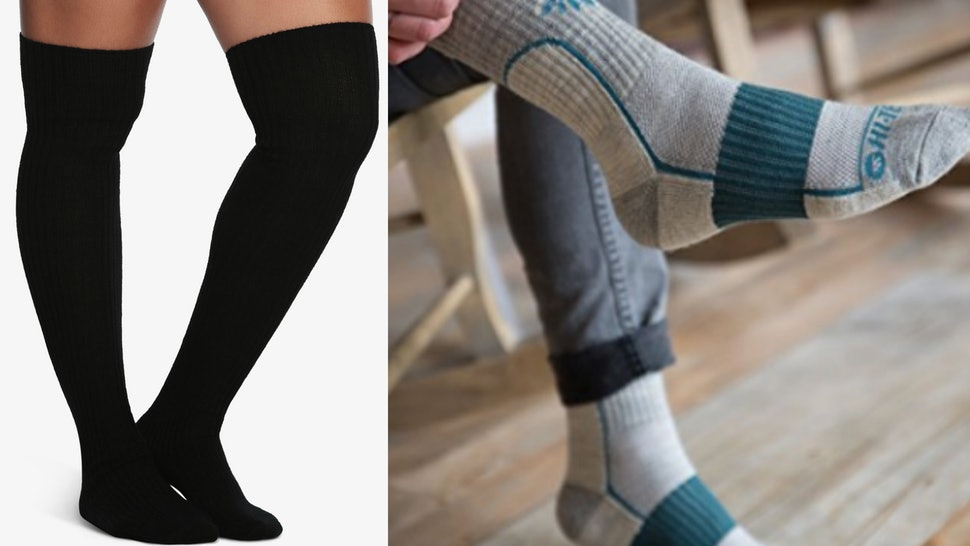 b223afeec10 The 14 Best Socks For Winter That Keep Your Feet Warm And Dry