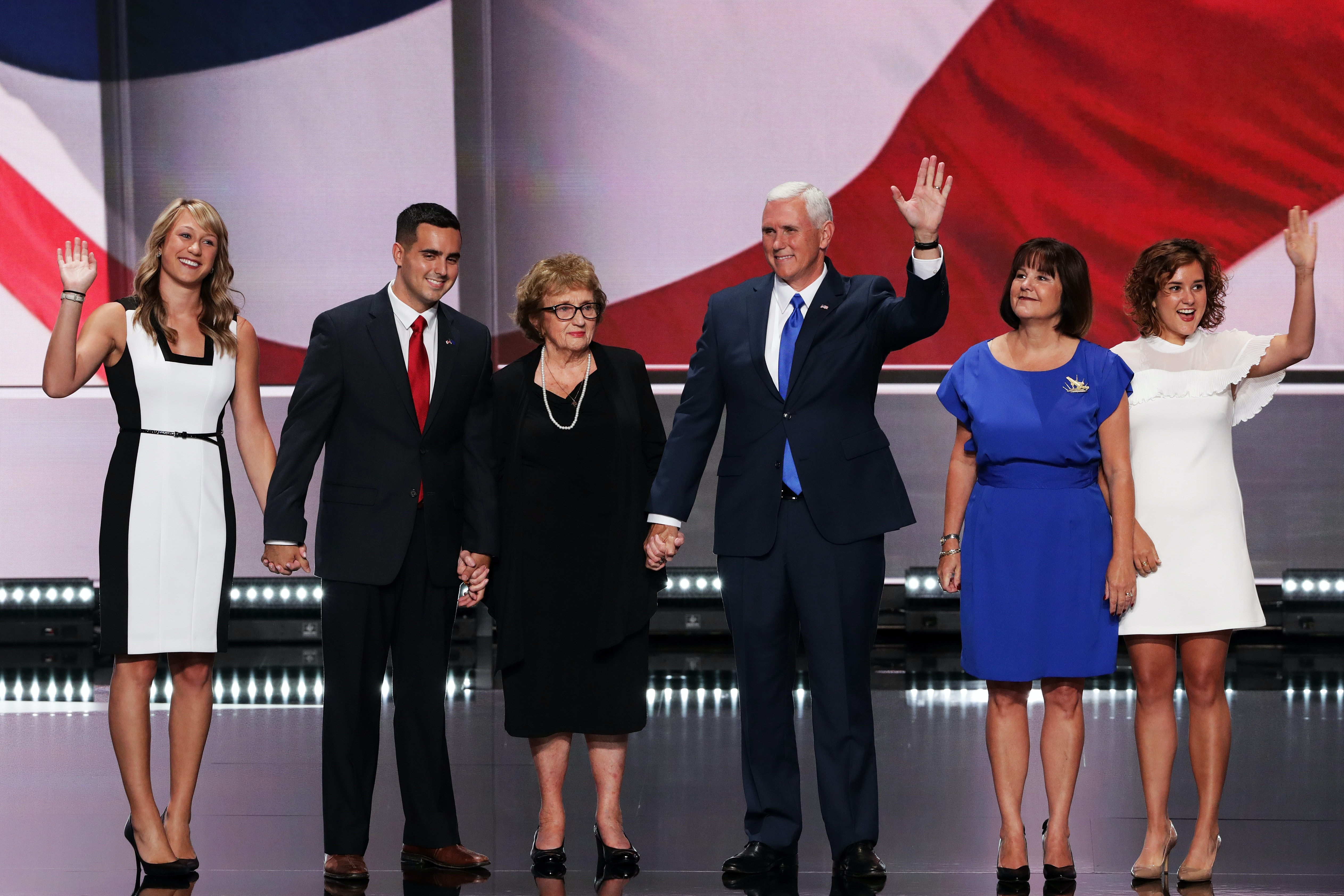 Who Is Michael Pence Jr S Wife The Vice President S Son Had A Quiet Wedding