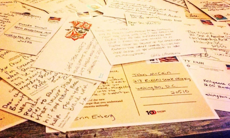 How to organize a postcard party to write to your representatives spiritdancerdesigns Gallery