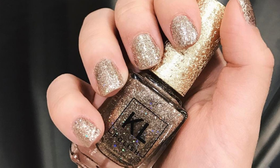 Is Kathleen Lights Das Esspensive XXV Gold Glitter Nail Polish Sold ...