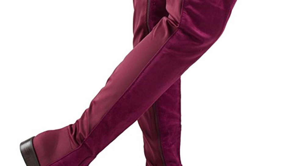 925906ae1e8 11 Over The Knee Boots That Actually Stay Up On Their Own