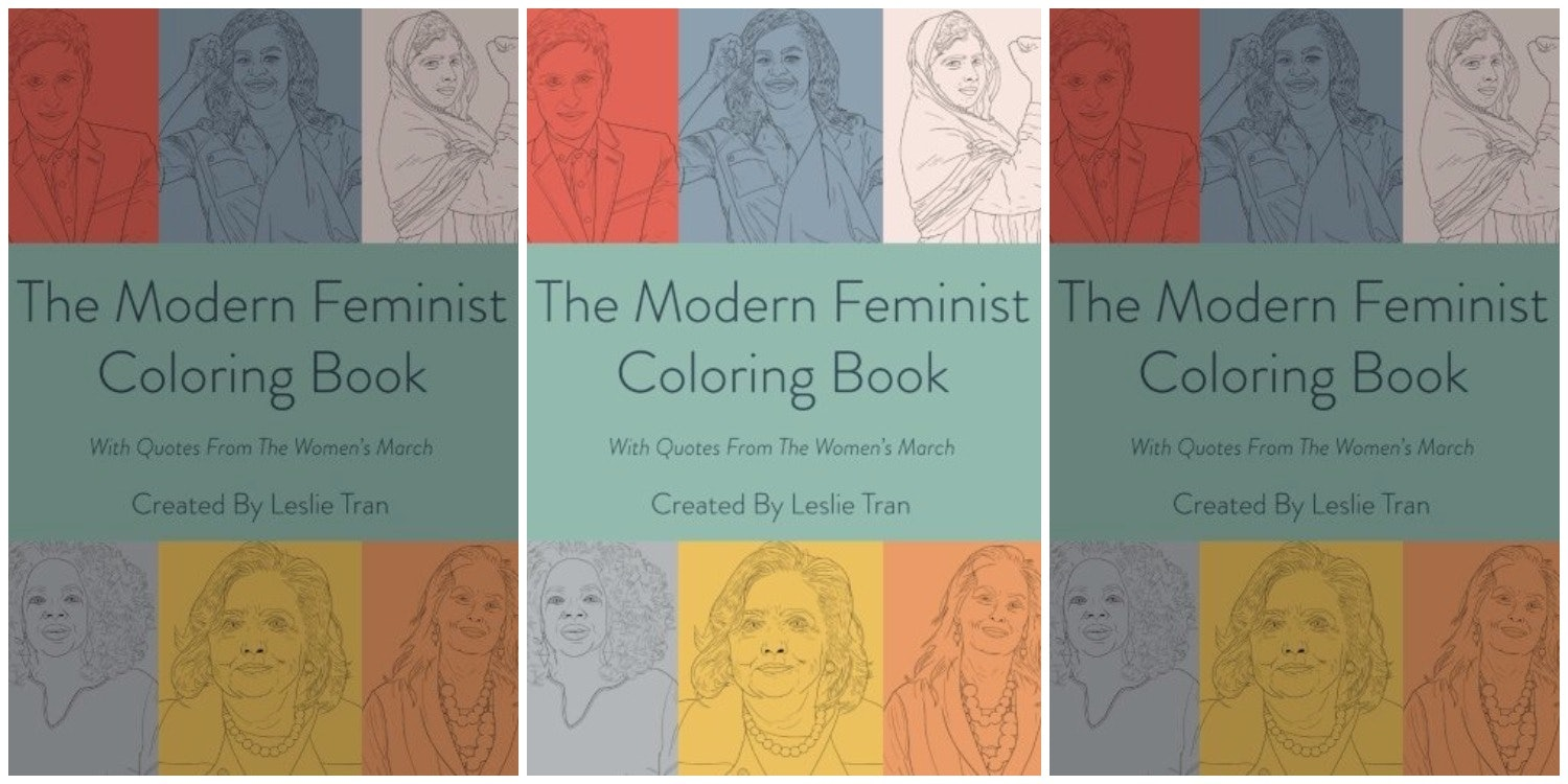 The new adult coloring book that modern feminists will love