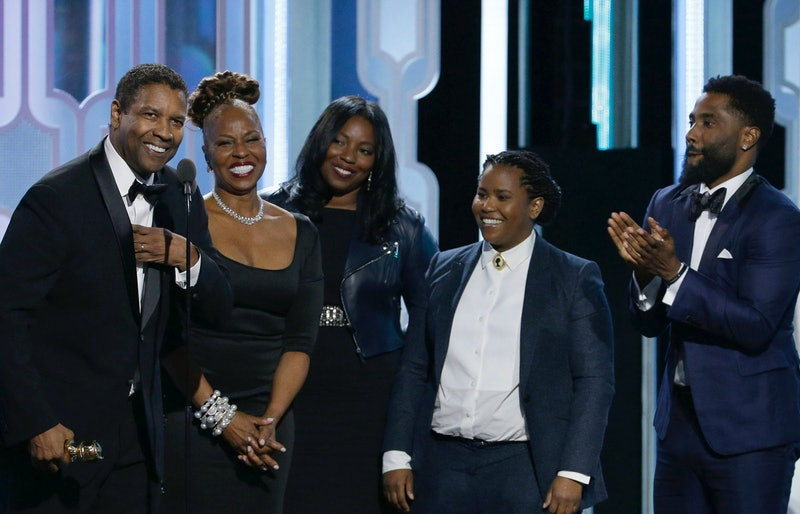 Denzel Washington has four children: John David, Katia, Olivia, and Malcolm.