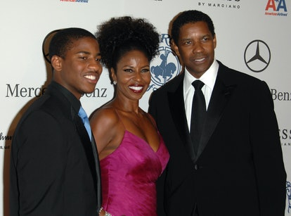 Denzel Washington's son Malcolm Butler is pursuing film.