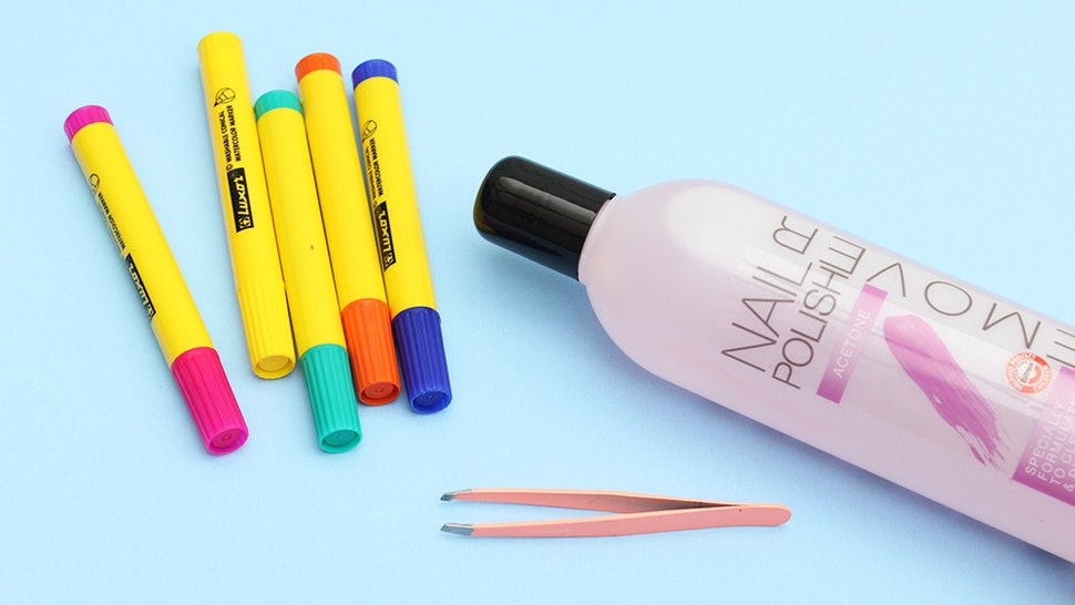 I Turned Old Markers Into Nail Polish Remover Pens & It Might Be The ...
