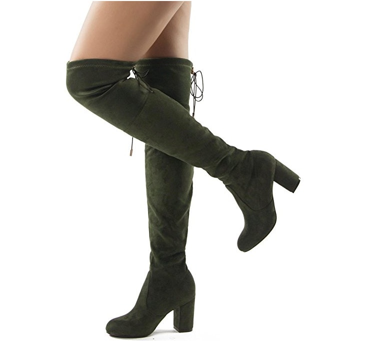 11 Over The Knee Boots That Tie In The