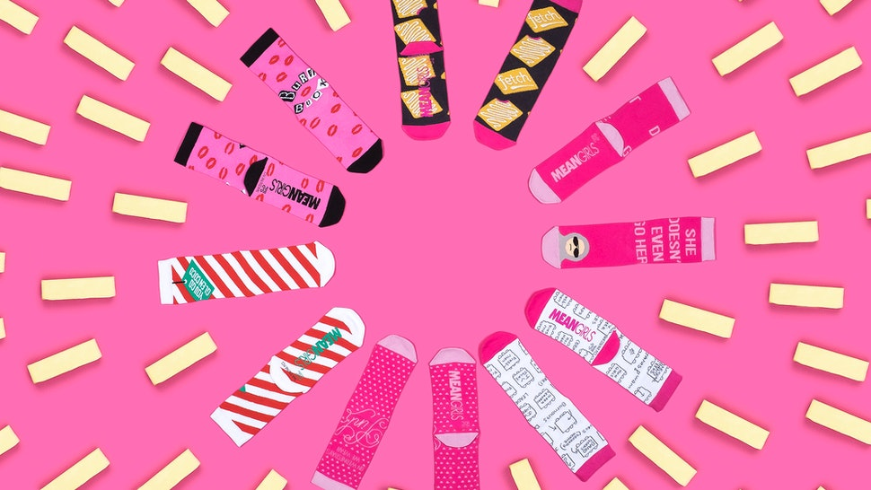 0a50c039a The Foot Cardigan x Mean Girls Sock Collaboration Is So Fetch