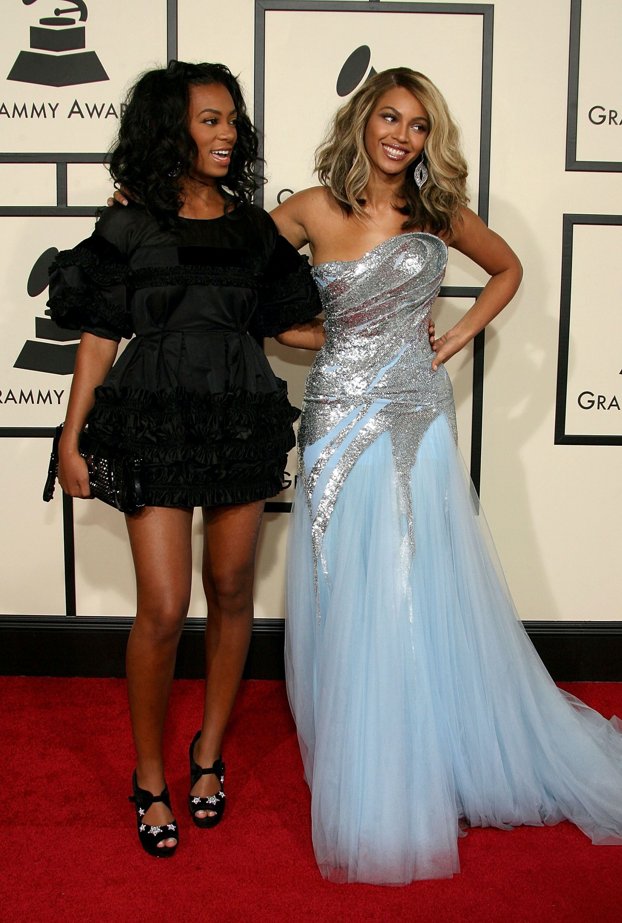 Solange & Beyoncé\'s 2017 Grammys Dresses Are Probably The Exact ...