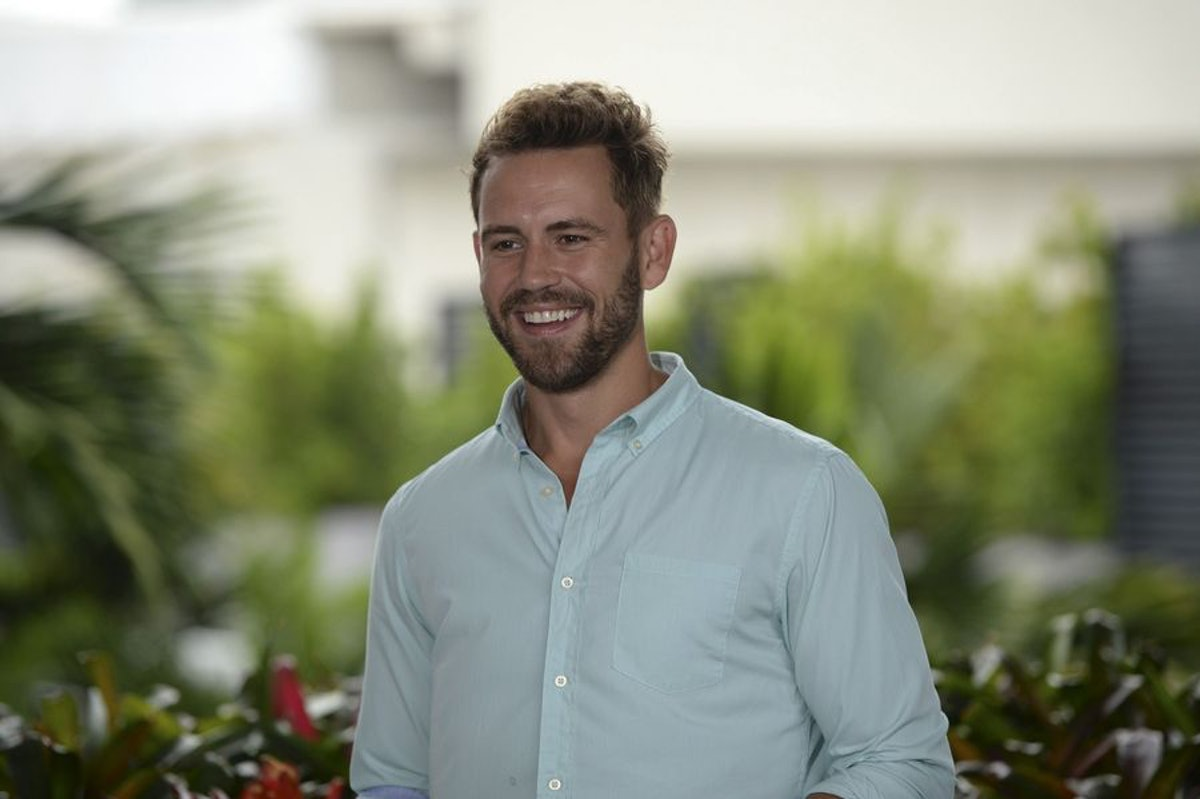 is nick from the bachelorette dating anyone Nick also told bustle he's not really dating anyone seriously i don't actively not want to have a girlfriend, he said i don't want a girlfriend just so i have someone to have lazy sundays.