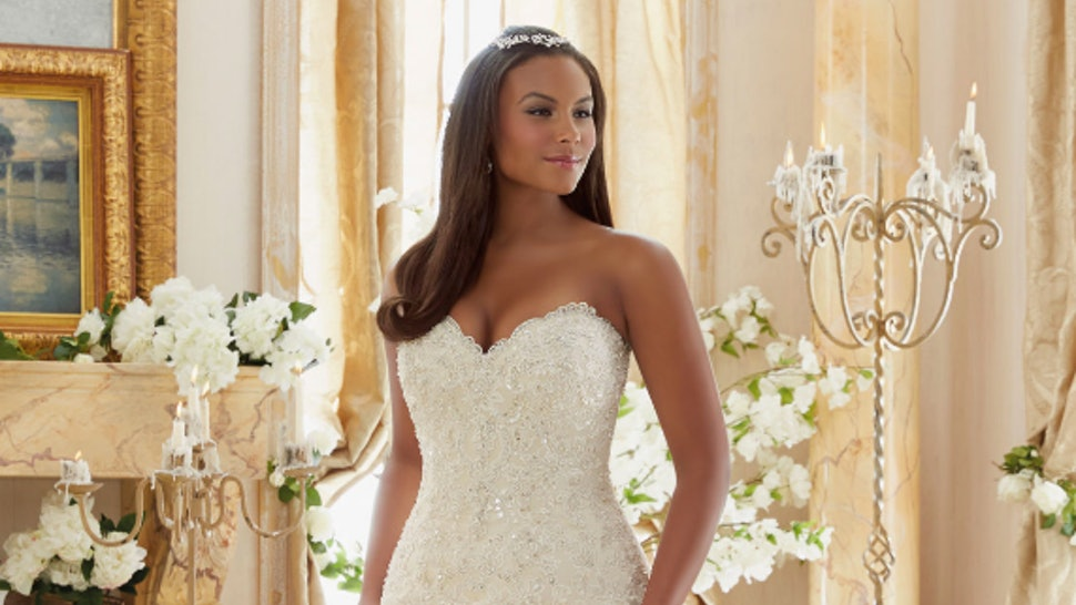a030ab3b1c3 11 Plus Size Wedding Dresses That Are All Unique   Absolutely Gorgeous