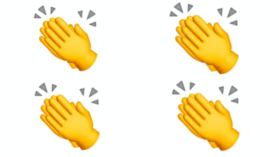What Does The Clapping Hands Emoji Mean On Twitter? It Goes
