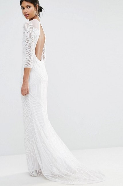 11 Non Lace Wedding Dresses For Contemporary Brides Ced Sleeve