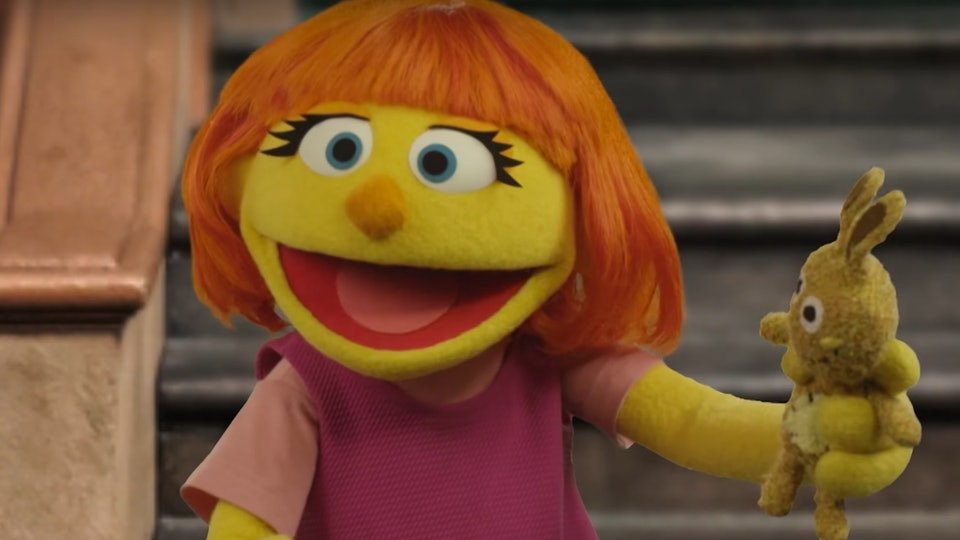 What Muppet With Autism Means To My >> When Is Julia S Premiere On Sesame Street She S The First Muppet