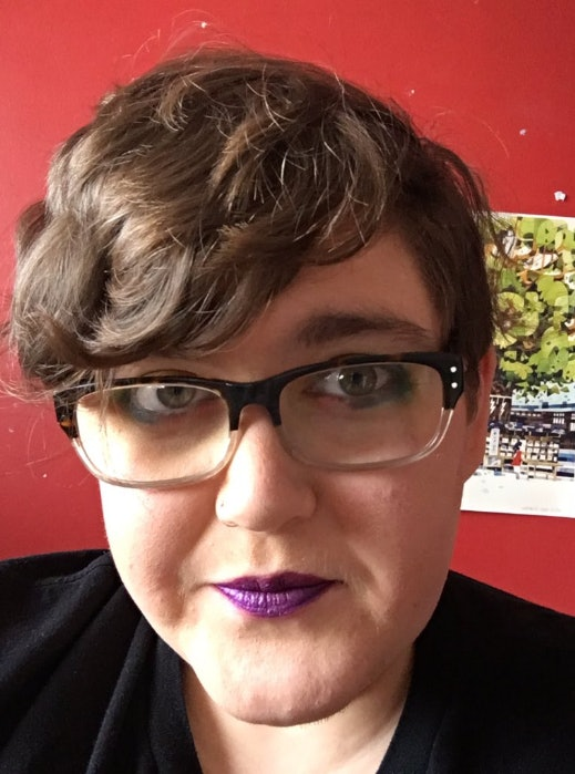 "Graham, a trans man, says, ""Even before I came out as trans, I was very  much aware that I still enjoyed makeup, and if it was the right cut,  wearing dresses ..."